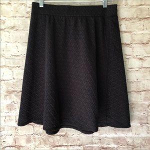 Joe B knit A-line skirt XL EUC